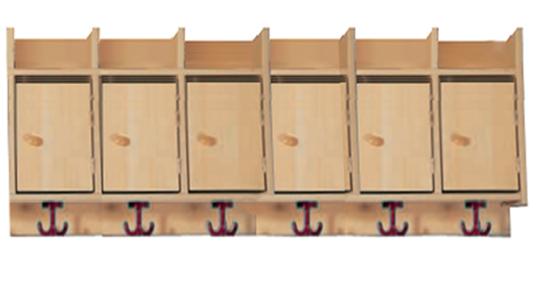 garderobenablage mit briefkasten f r elternpost. Black Bedroom Furniture Sets. Home Design Ideas