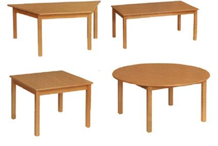 Tisch schule  Tisch Kiga Rundtisch D: 80 cm, Tische, Holztische ...