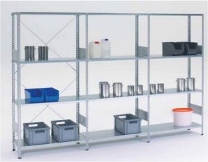 Regalsystem metall büro  Regalsysteme für Archiv, Büro, Lager oder Betrieb, Stahlregale ...