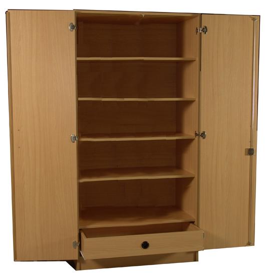 kleiderschrank f r bewohnerzimmer von senioreneinrichtungen oder pflegeeinrichtungen. Black Bedroom Furniture Sets. Home Design Ideas
