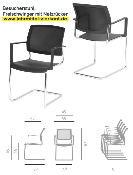 besucherstuhl besucherst hle b rost hle schulungst hle freischwinger st hle. Black Bedroom Furniture Sets. Home Design Ideas