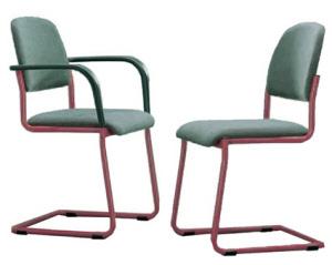 Konferenzstuhl freischwinger  Freischwinger mit Sitz und Rücken gepolstert, Stühle Freischwinger ...