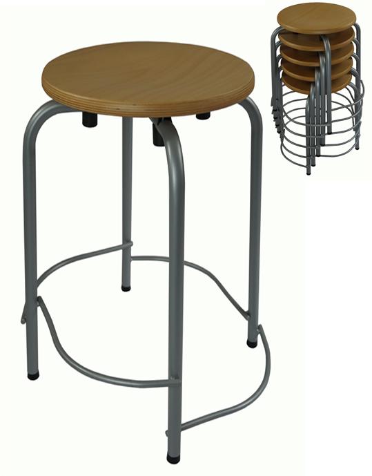 hocker stapelbar stapelhocker kaufen sitzhocker vierbeinhocker werkraumhocker. Black Bedroom Furniture Sets. Home Design Ideas