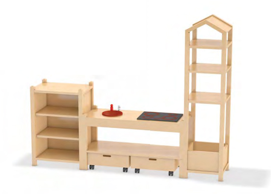 regal kindergartenregale regale f r kinder regalsysteme. Black Bedroom Furniture Sets. Home Design Ideas