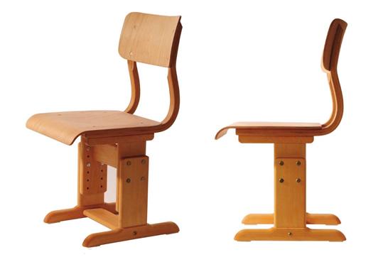 H henverstellbarer schulstuhl aus holz massivholzstuhl for Schulstuhl holz