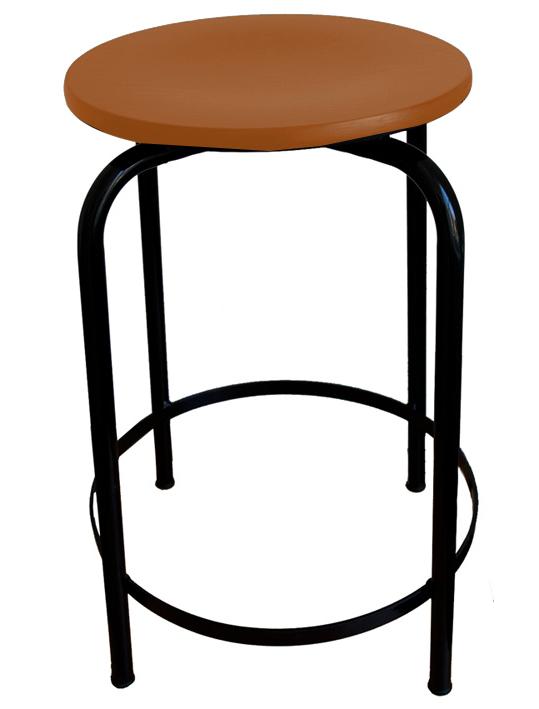 hocker sitzh he 55 cm mit fu st tze hocker. Black Bedroom Furniture Sets. Home Design Ideas