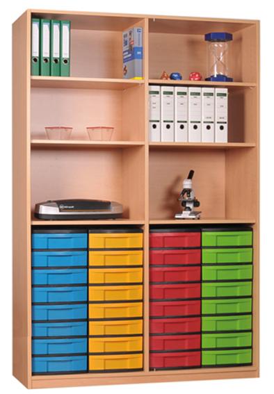 materialschrankregal mit modulboxen eigentumsschr nke. Black Bedroom Furniture Sets. Home Design Ideas