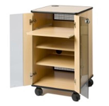 medienschrank visucenter medienschrank mit glast r. Black Bedroom Furniture Sets. Home Design Ideas