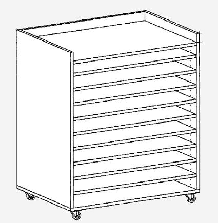 papierwagen din a1 wagen f r papier bastelwagen bastelpapierwagen posterwagen. Black Bedroom Furniture Sets. Home Design Ideas