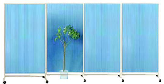 Raumteiler Trennwände raumteiler lichtdurchlässig raumteiler aus acryl mobile trennwand
