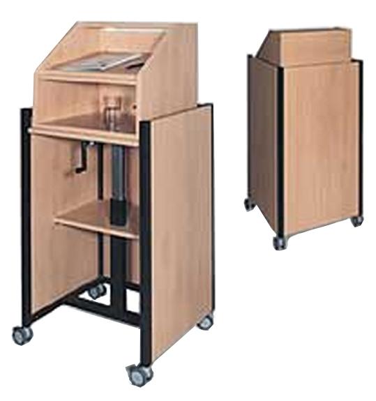 rednerpult rednerpulte h henverstellbares rednerpult. Black Bedroom Furniture Sets. Home Design Ideas