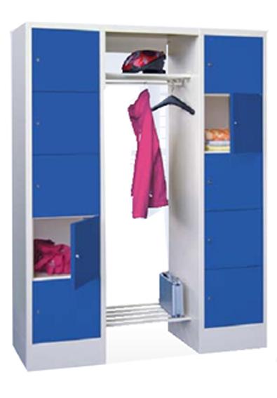 Offene schlie fach garderoben schlie fachschrank aus for Offene garderobensysteme