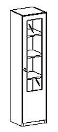 schrank t r mit glaseinsatz glast reneinsatzschrank. Black Bedroom Furniture Sets. Home Design Ideas