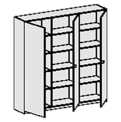 schrankwand schrankw nde schrankwand schulschrank spezialschr nke materialschrank. Black Bedroom Furniture Sets. Home Design Ideas