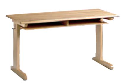 Schultisch mit stuhl  Schulmöbel aus Holz, Holzkufentische und Holzkufenstühle ...
