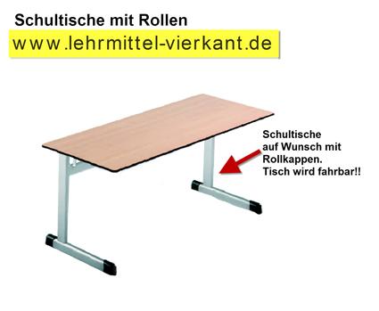 Schultisch maße  Schülereinzeltisch C-Kufe Ovalrohrtisch 70x55 cm, Schülertische ...