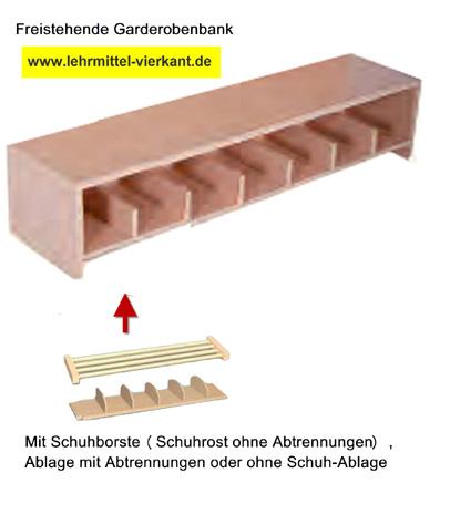 garderobensitzbank mit r ckenlehne garderobensitzbank f r kindergarten sitzbank mit. Black Bedroom Furniture Sets. Home Design Ideas