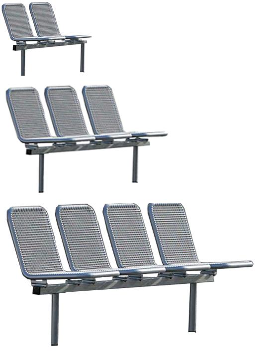 Unterschiedlich Außenmöbel, Freiraummöbel, Außenmöbel wie Bänke, Parkbänke  PA23