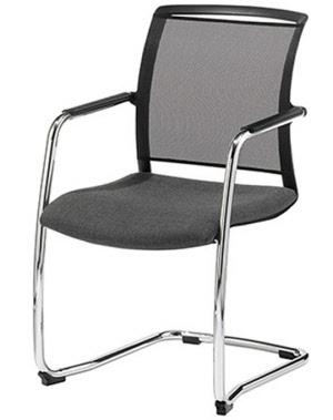 konferenzstuhl freischwinger mit netzr cken konferenzst hle besucherstuhl besucherst hle mit. Black Bedroom Furniture Sets. Home Design Ideas
