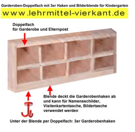kindergarten garderobenablage garderoben f r kinder. Black Bedroom Furniture Sets. Home Design Ideas