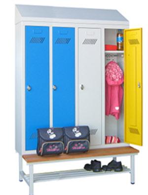 stahlspind f r schulen garderobenschr nke f r schulen. Black Bedroom Furniture Sets. Home Design Ideas