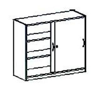 unterschrank 98 cm mit schiebet ren breite 100 120 tiefe 40 60cm. Black Bedroom Furniture Sets. Home Design Ideas