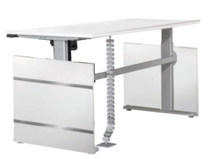 arbeitstische motorisch h henverstellbar elektrisch verstellbare tische elektrisch. Black Bedroom Furniture Sets. Home Design Ideas