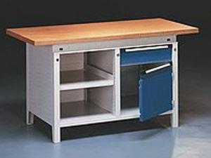 Werktisch kaufen werkbank serie function werkbank mit unterschrank werktisch mit 40 mm platte - Werkbank unterschrank ...