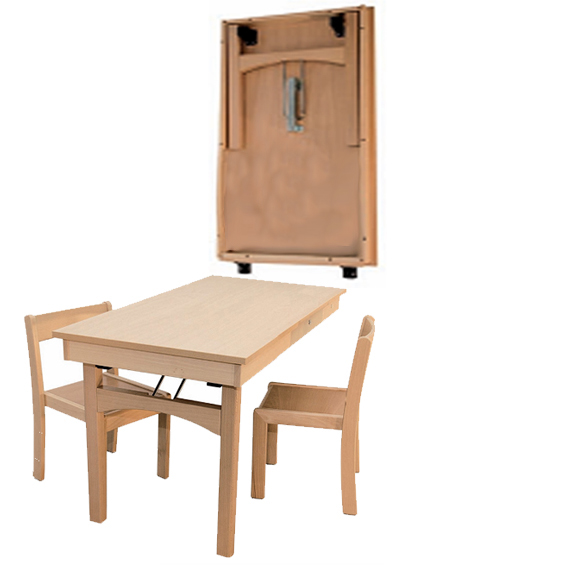 Wandklapptisch  Wandklapptisch, Wandklapptische, Tische zur Wandmontage ...