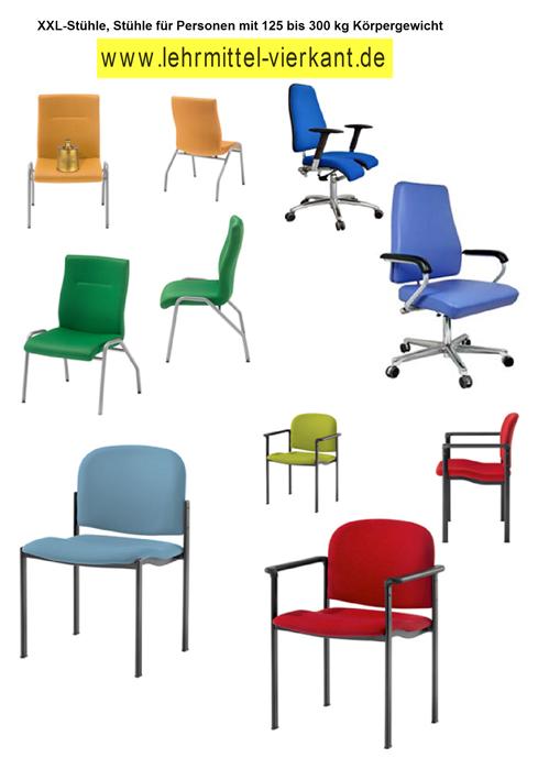 xl-stühle und xxl-stühle, stühle für personen ab 125 bis 300 kg, Esszimmer dekoo