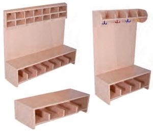 sitzbank sitzb nke f r kindergarten garderobenbank aus holz sitzb nke f r kinder. Black Bedroom Furniture Sets. Home Design Ideas