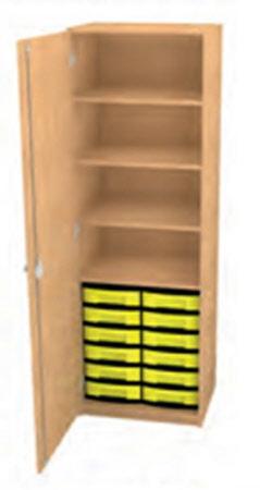 materialschrank materialschrank f r schule schrank mit kunststoffboxen klassenzimmerschrank. Black Bedroom Furniture Sets. Home Design Ideas