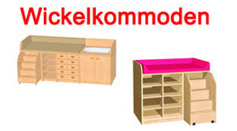 Wickelkommoden